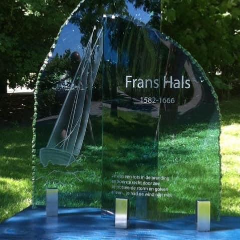 Blauw glas Frans Hals