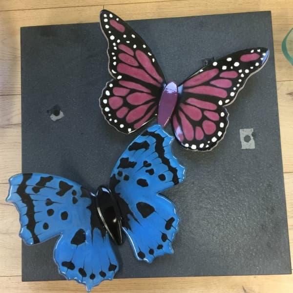 Vlinders van glas, glasfusing